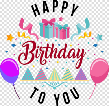 Greeting & Note Cards Happy Birthday Gift, Birthday transparent background PNG clipart png image transparent background