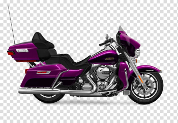 Motorcycle accessories Harley-Davidson Electra Glide Cruiser, motorcycle transparent background PNG clipart png image transparent background