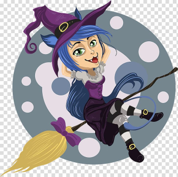 Witchcraft Portable Network Graphics graphics, Cartoon witch transparent background PNG clipart png image transparent background