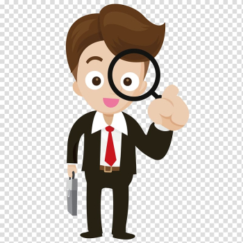 Magnifying glass Magnification Icon, Take the magnifying glass business people transparent background PNG clipart png image transparent background