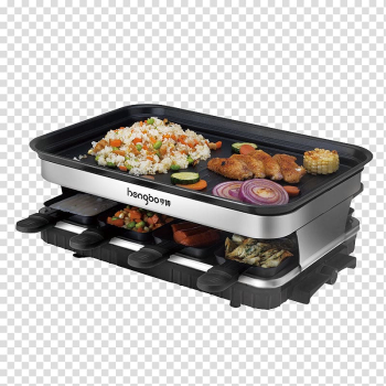 Churrasco Barbecue Raclette Korean cuisine Grilling, Smoking double electric oven transparent background PNG clipart png image transparent background