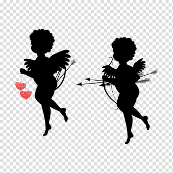 Cupid Heart , Cupid,God of love,Qixi Festival transparent background PNG clipart png image transparent background