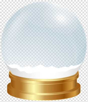 Brown and clear glass snow globe , Snow globe , Snow Globe Template transparent background PNG clipart png image transparent background