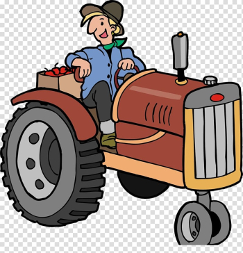 Tractor Animation, Open tractor transparent background PNG clipart png image transparent background