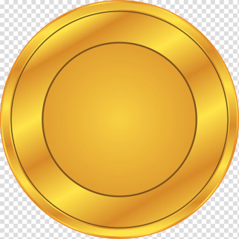 Round gold illustration, Gold coin Animation, Golden coin transparent background PNG clipart png image transparent background