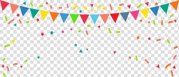 Bunting Banner Flag , Rave party flag, birthday pennant illustration transparent background PNG clipart png image transparent background
