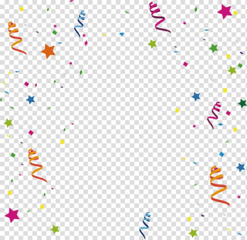 Assorted-color graffiti decor illustration, Ribbon Birthday New Year , Holiday promotional ribbon background material transparent background PNG clipart png image transparent background