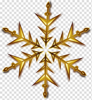 Snowflake Gold , Christmas Gold Star Pic transparent background PNG clipart png image transparent background
