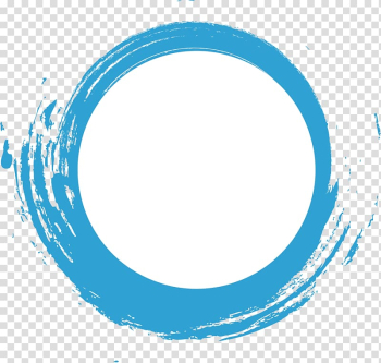 White and teal painting, Creativity, Blue watercolor dashed circle creative transparent background PNG clipart png image transparent background