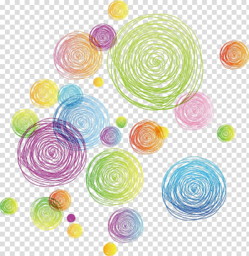 Euclidean Circle Line, Colorful abstract geometric circle line, illustration of polka-dots transparent background PNG clipart png image transparent background