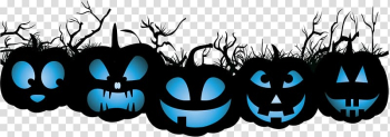 Halloween costume Pumpkin Jack-o'-lantern Party, Halloween pumpkin and tree branches transparent background PNG clipart png image transparent background