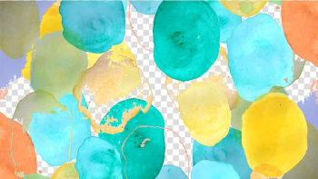 Multicolored abstract painting, Watercolor painting Polka dot Pattern, Watercolor Polka Dot Shading transparent background PNG clipart png image transparent background