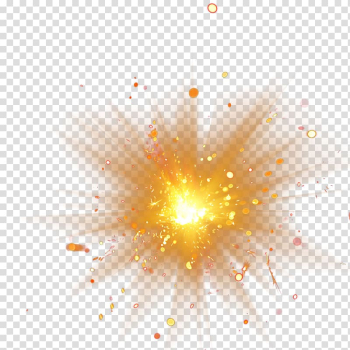 Light Adobe Fireworks, 2017 golden light, orange spark transparent background PNG clipart png image transparent background