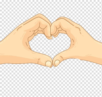 Cartoon Drawing Finger Heart, Cartoon heart transparent background PNG clipart png image transparent background