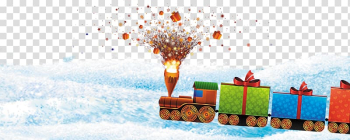 Christmas tree Gift , Fireworks Christmas train pattern transparent background PNG clipart png image transparent background