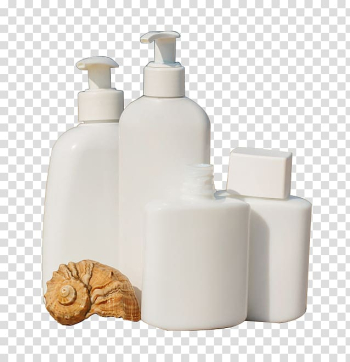 Bottle , White bottles and conch transparent background PNG clipart png image transparent background