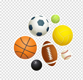 Sport Ball Hockey Game, color Various ball games transparent background PNG clipart png image transparent background