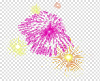 Fireworks Creativity, Creative beautiful color fireworks transparent background PNG clipart png image transparent background