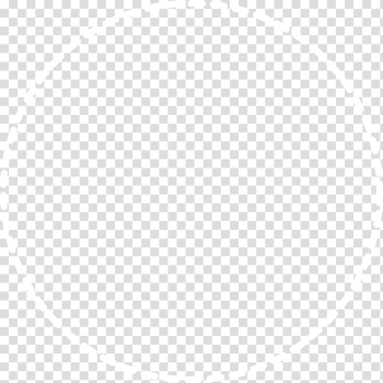 Round white frame illustration, Minimalist style dotted line circle circular border transparent background PNG clipart png image transparent background
