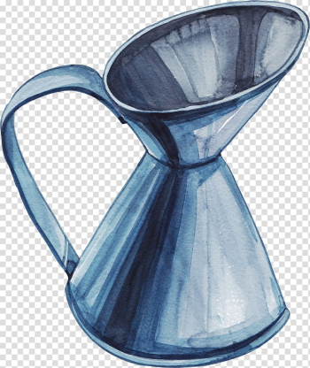 Vase Cartoon Watercolor painting, Illustration kettle transparent background PNG clipart png image transparent background