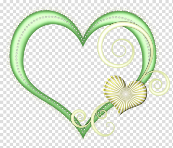 Green Heart transparent background PNG clipart png image transparent background