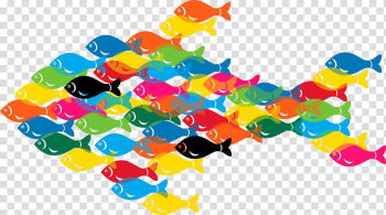 Microsoft PowerPoint Template Microsoft Word Portable Document Format Office Online, Color cartoon fish transparent background PNG clipart png image transparent background