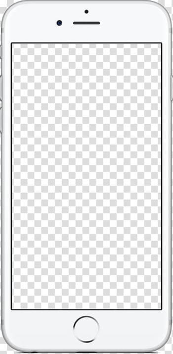 Smartphone Web banner Icon, Phone, silver iPhone 6 transparent background PNG clipart png image transparent background
