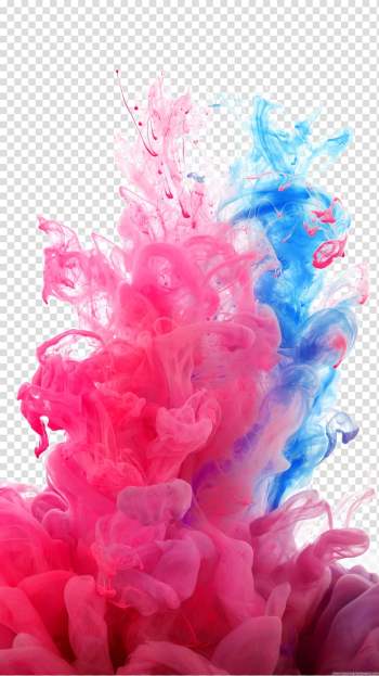Samsung Galaxy S5 Samsung Galaxy Note 4 HTC One (M8) LG G3 Lock screen, Fresh color dust smoke , pink and blue smoke transparent background PNG clipart png image transparent background