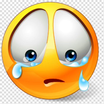Crying emoji sticker, Smiley Sadness Emoticon , Of Sad People transparent background PNG clipart png image transparent background
