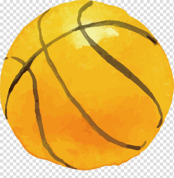 Basketball Watercolor painting Sport, Drawing basketball transparent background PNG clipart png image transparent background