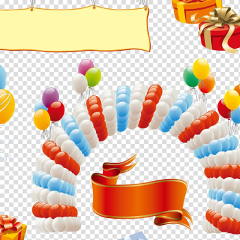 Balloon Party Birthday , Creative birthday transparent background PNG clipart png image transparent background