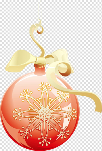 Christmas ornament Ball Snowflake, bulb transparent background PNG clipart png image transparent background