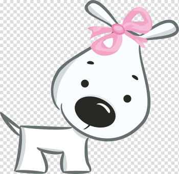 White dog illustration, Dog Valentines Day Happiness Birthday Greeting card, Hand drawn white puppy bow transparent background PNG clipart png image transparent background