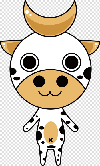 Cattle Animal , White cow illustration transparent background PNG clipart png image transparent background