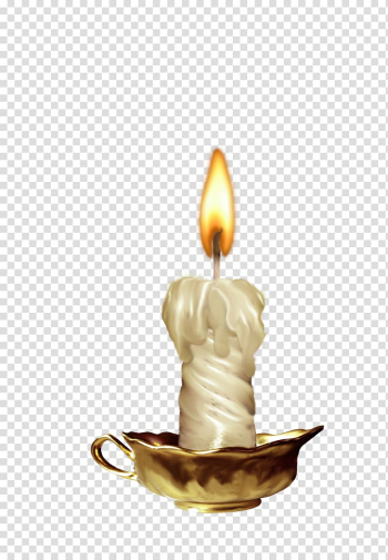 White lit candle, Candle Light , Burning candles transparent background PNG clipart png image transparent background