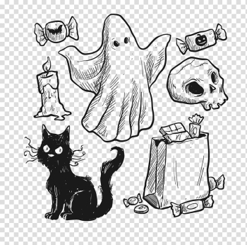 Halloween Euclidean Trick-or-treating, Halloween transparent background PNG clipart png image transparent background