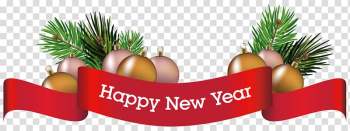 Happy New Year signage, Christmas decoration New Year , Merry Christmas Decorative Ornament transparent background PNG clipart png image transparent background