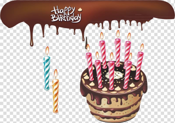 Birthday Cake transparent background PNG clipart png image transparent background