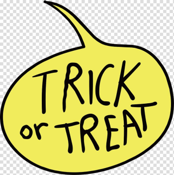 Trick-or-treating Halloween , Trick or treat transparent background PNG clipart png image transparent background