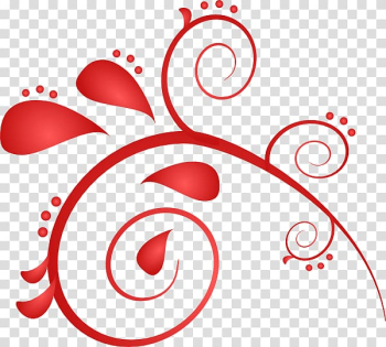 Red , Christmas Swirl transparent background PNG clipart png image transparent background