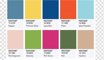 Pantone New York Fashion Week New York City Color Palette, trend colors transparent background PNG clipart png image transparent background