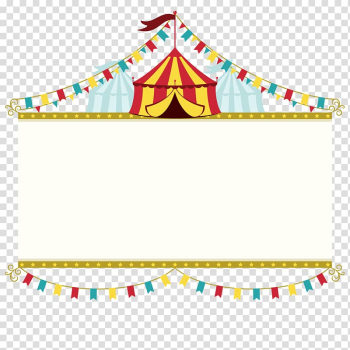 Carnival , Wedding invitation Circus Poster Banner, Circus brand transparent background PNG clipart png image transparent background