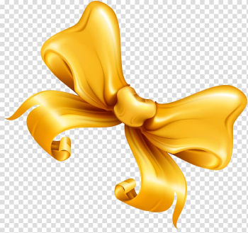 Ribbon Gold Shoelace knot, Luxury golden bow transparent background PNG clipart png image transparent background