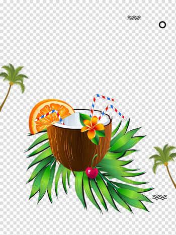 Coconut milk Coconut water Fruit, Delicious coconut milk transparent background PNG clipart png image transparent background
