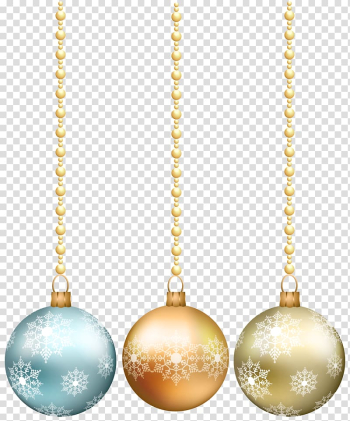 File formats Lossless compression, Hanging Christmas Balls transparent background PNG clipart png image transparent background