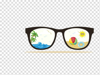 Wedding invitation Childrens party Beach Birthday, glasses transparent background PNG clipart png image transparent background