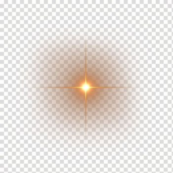 Light Luminous efficacy Halo Lens flare, HD lens flares, yellow light transparent background PNG clipart png image transparent background