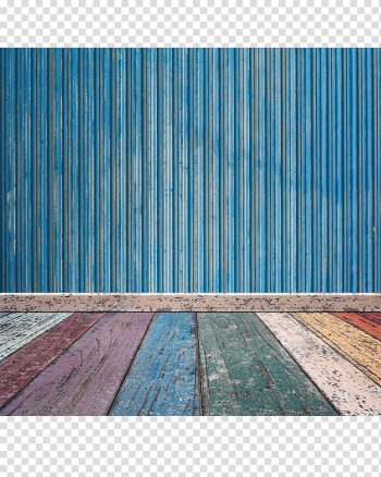Blue galvanized iron sheet, Wall Wood Paper Floor Brick, Colorful Wooden Floor Blue Wooden Wall transparent background PNG clipart png image transparent background