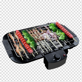 Korean barbecue Churrasco Grilling Oven, Smoke-free baked barbecue material transparent background PNG clipart png image transparent background
