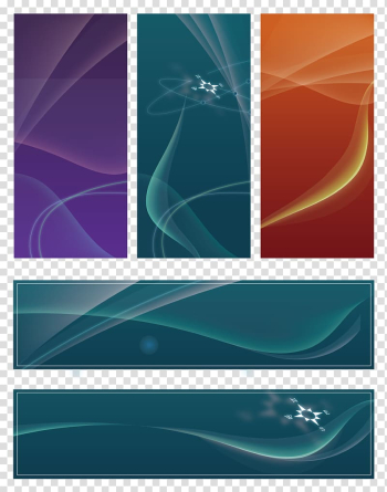 Five assorted-color banners, Graphic design Meeting , business,Electricity supplier,Conference Background transparent background PNG clipart png image transparent background